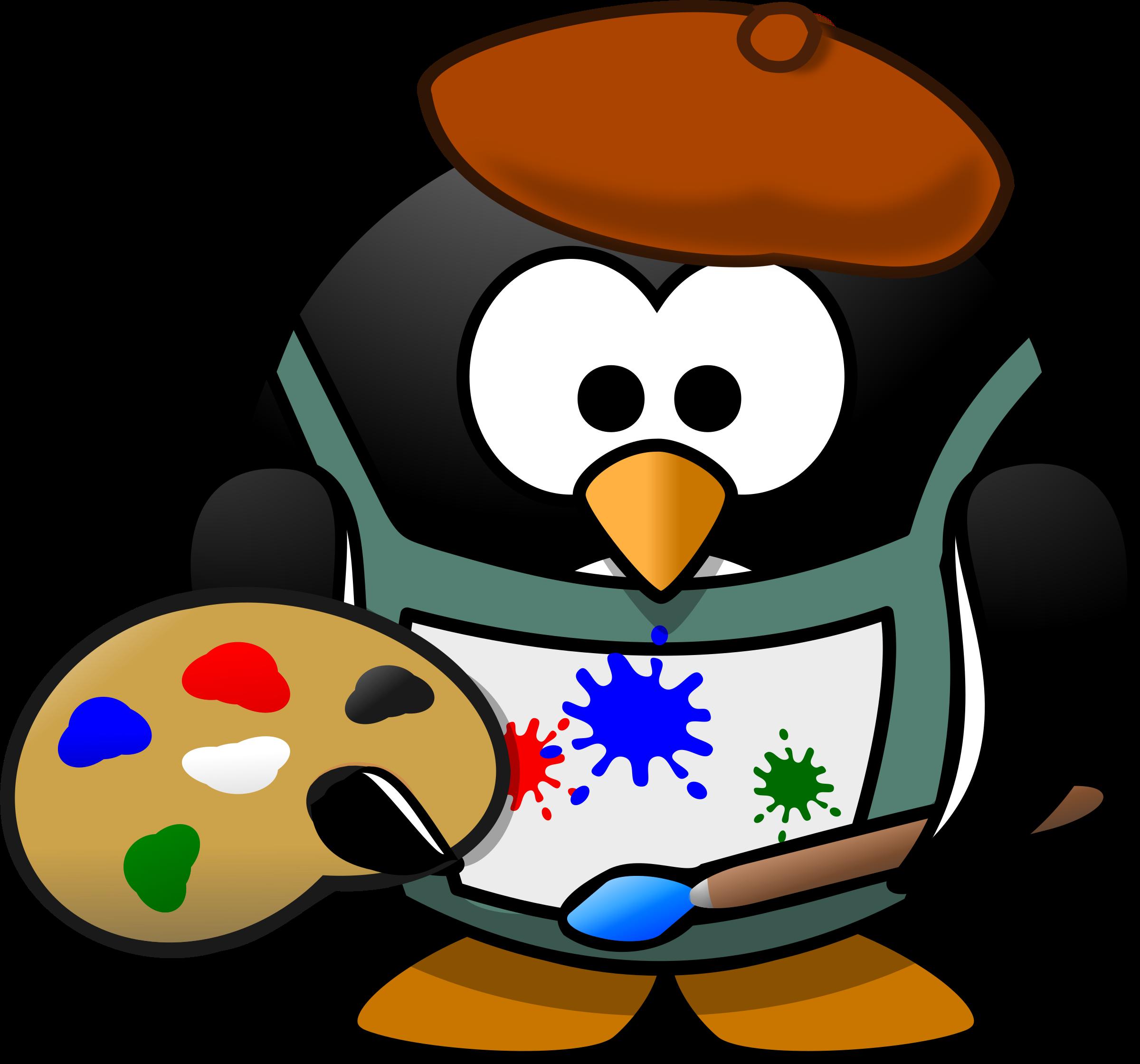2400x2240 Migration Clipart Penguin
