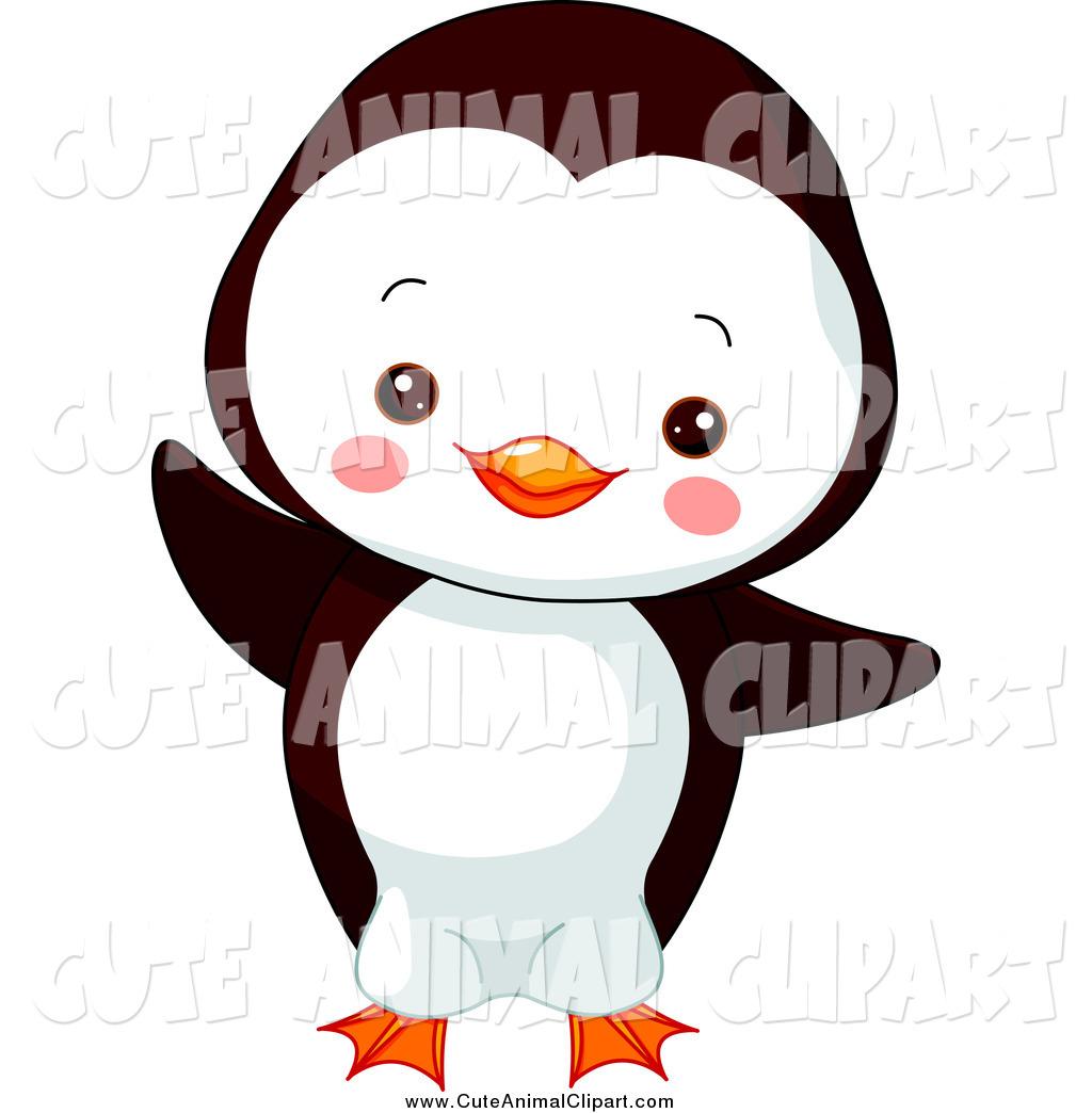 1024x1044 Vector Cartoon Clip Art Of A Cute Baby Penguin Dancing By Pushkin