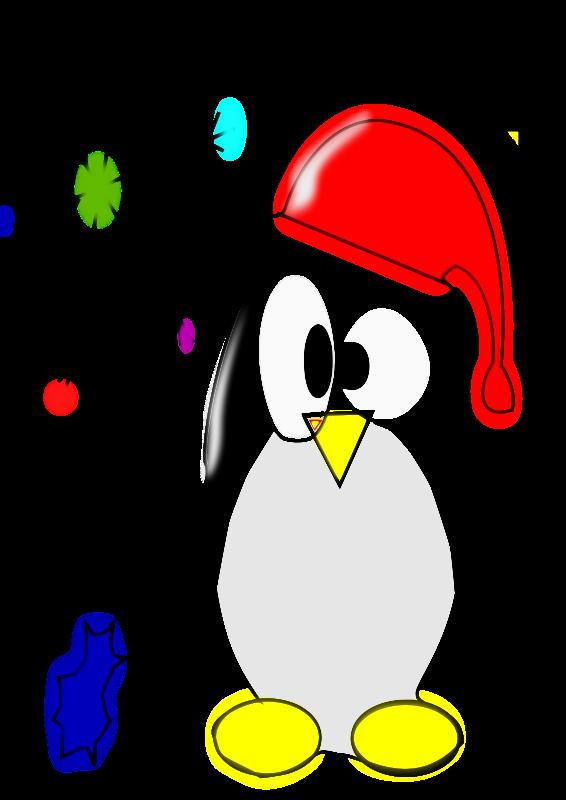 566x800 Free Clipart Linux Penguin Juan David