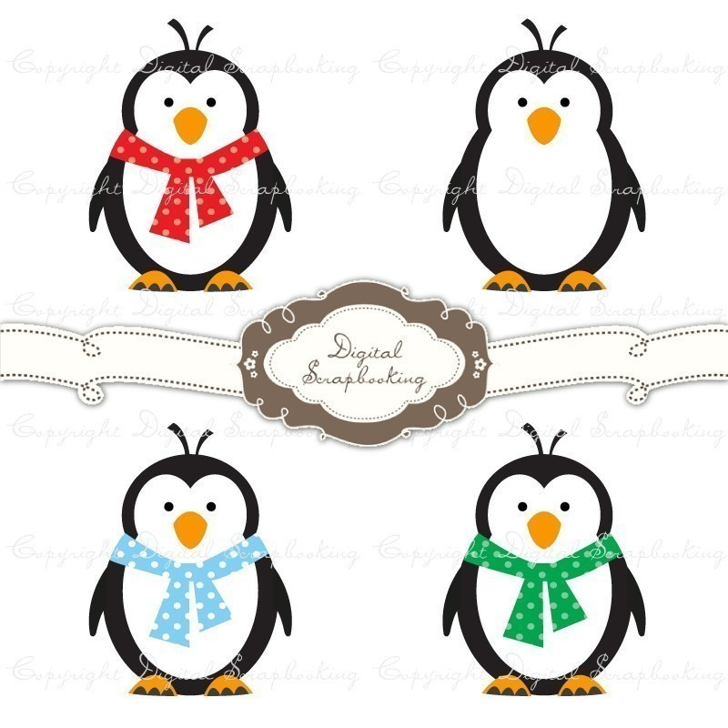 800x800 Penguin Clipart To Print