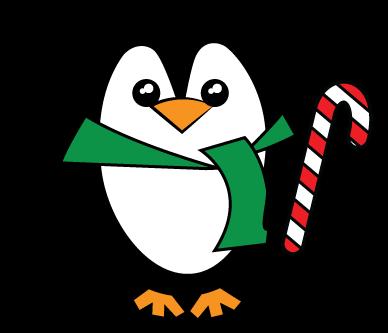 388x333 Penguin Clipart Transparent Background