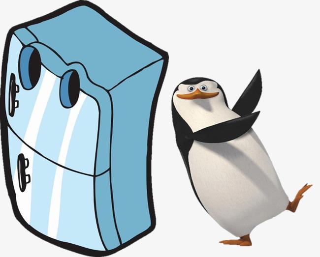 650x523 Refrigerator With Penguins, Refrigerator, Penguin, Penguins