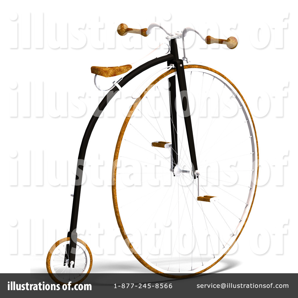 1024x1024 Penny Farthing Clipart