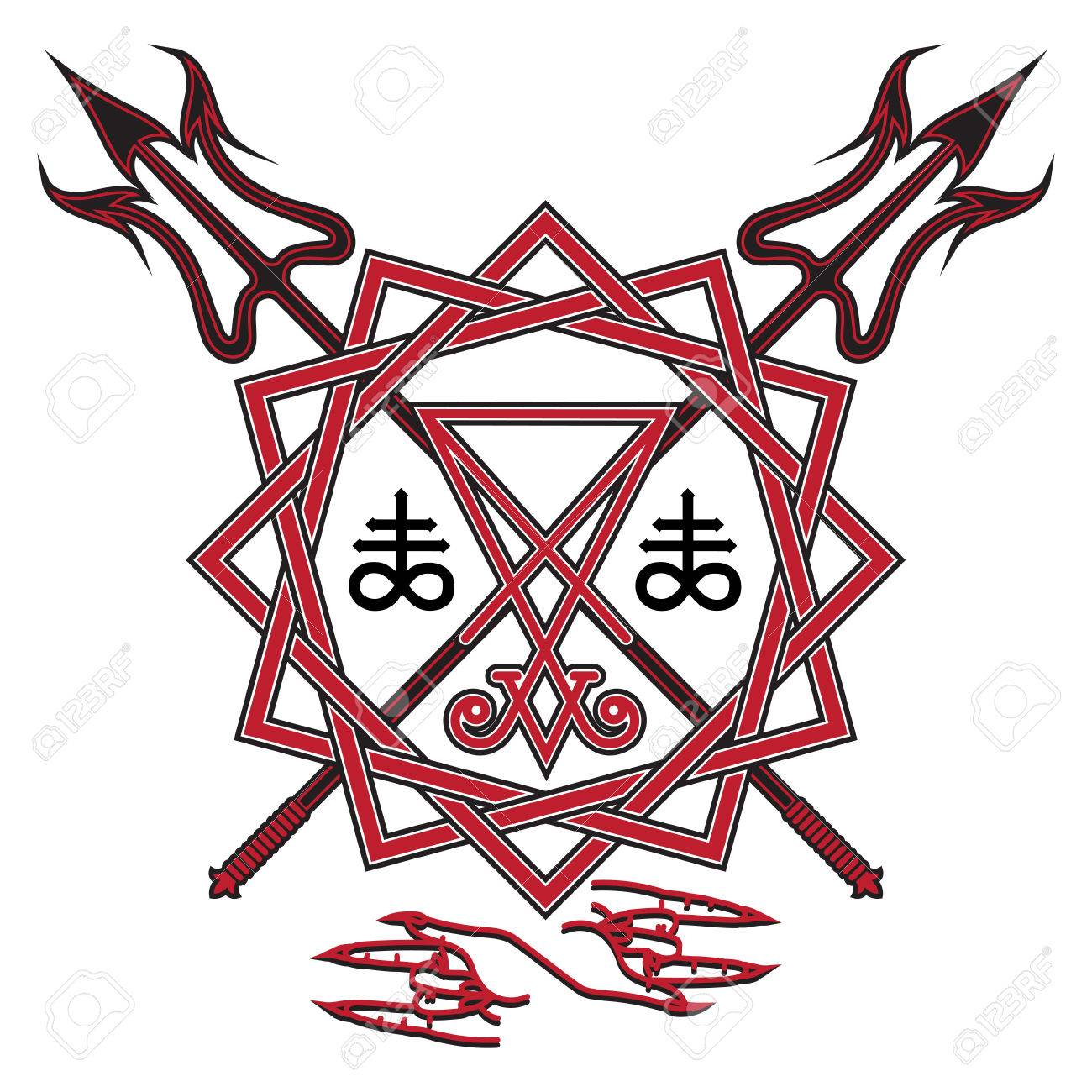 1300x1300 Pentacle Clipart Supernatural