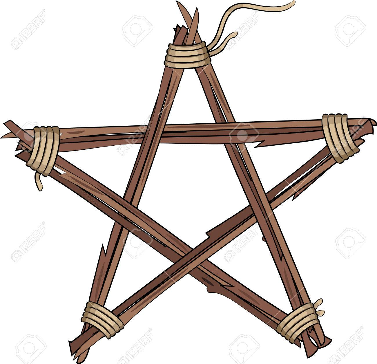 1300x1257 Pentagram Clipart Drawn Star
