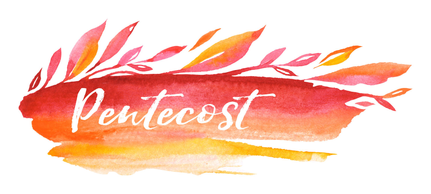 1500x676 Pentecost Banner, Printable Art, Instant Download, Christian Art