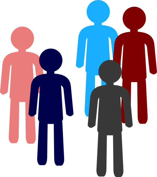 534x600 Sample Of People Clip Art
