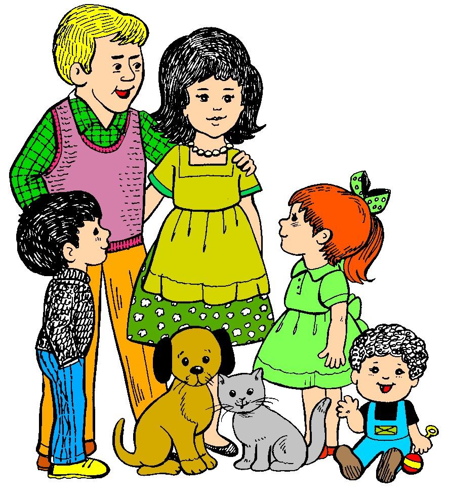 887x981 Family Clip Art Image Free