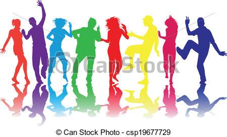 450x271 Illustration Of People Dancing
