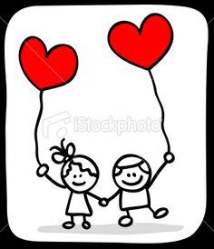 236x274 Stick Figure Valentine's Day Valentine People Love Wedding Couple