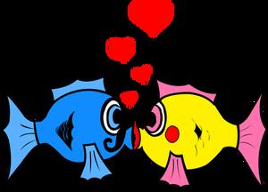 300x216 30000 Cartoon Clip Art Of Old People Kissing Public Domain Vectors