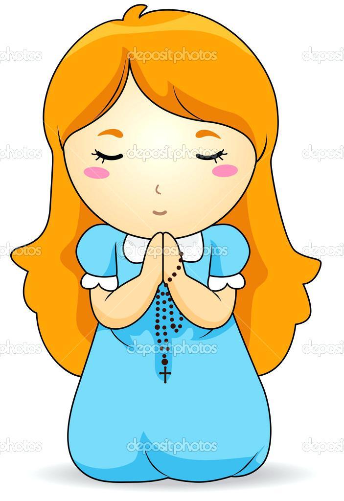 703x1024 Clipart Of Child Praying