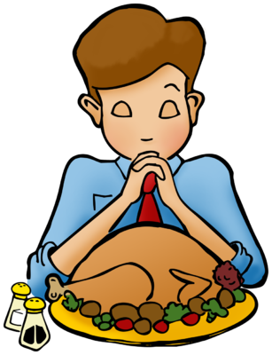 307x400 Image Praying On Thanksgiving Thanksgiving Clip Art