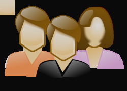250x180 Clip Art People Group