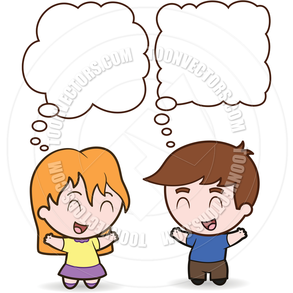 940x940 Two Children Talking Clipart 10 Clipart Station