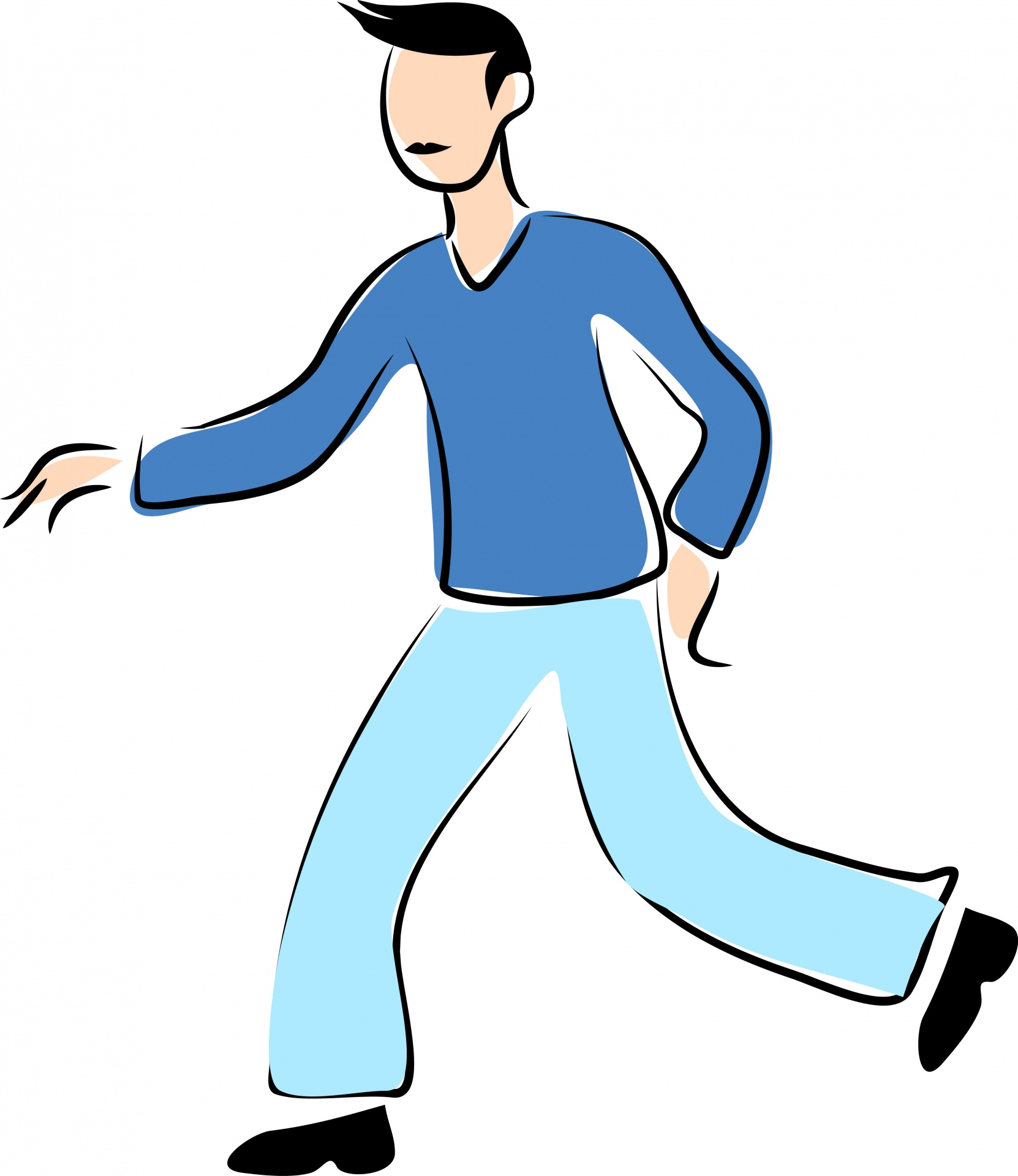 People Walking Clipart