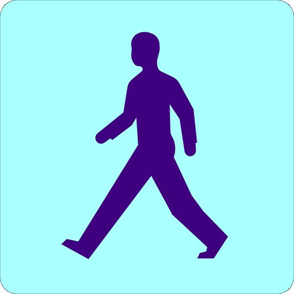 600x600 Man Walking Clip Art