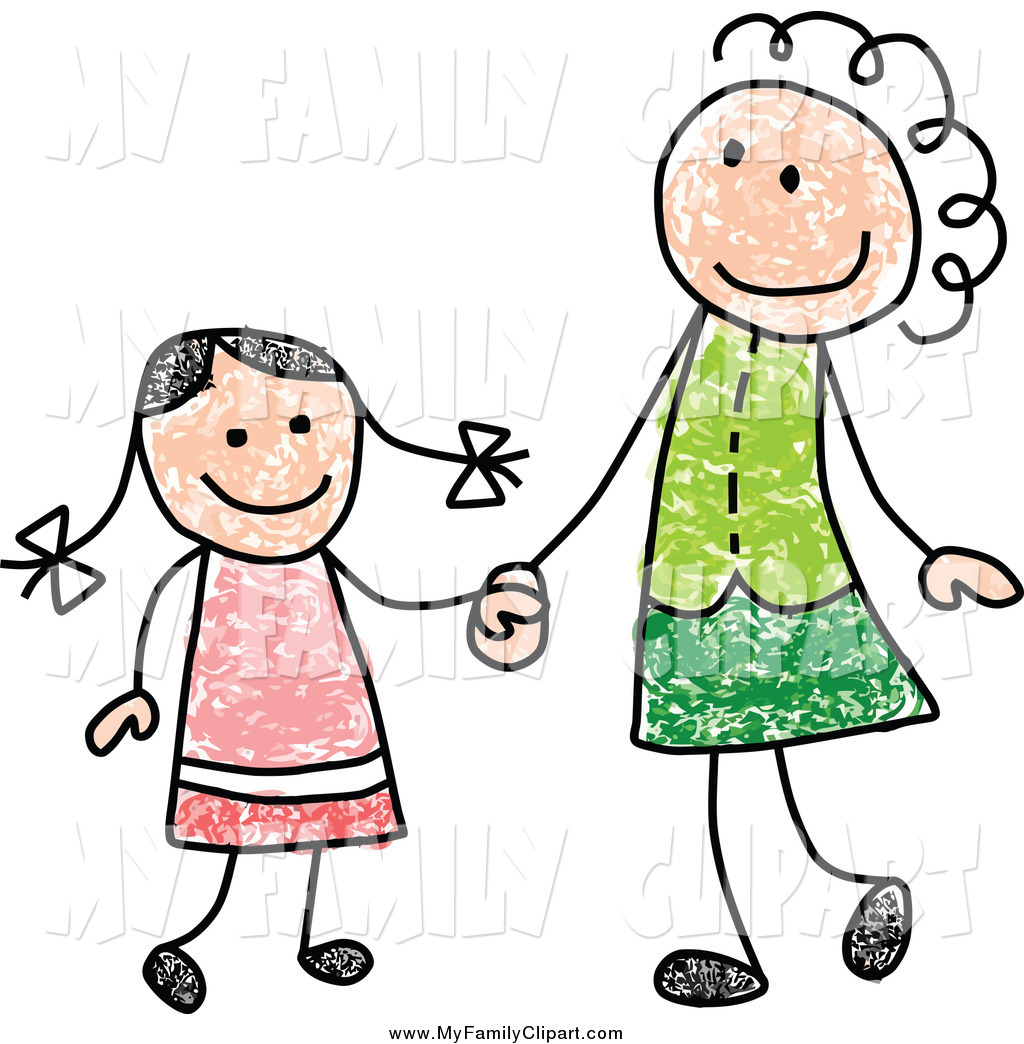 1024x1044 Clipart Mother Daughter