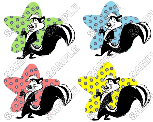 599x480 Le Pew Iron Ons