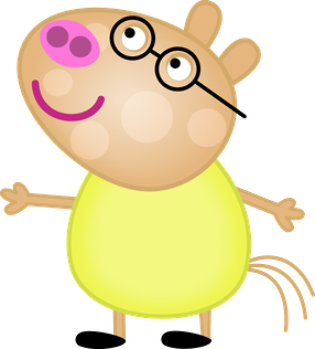 286x316 Peppa Pig And Her Family Clipart. Oh My Fiesta! In English
