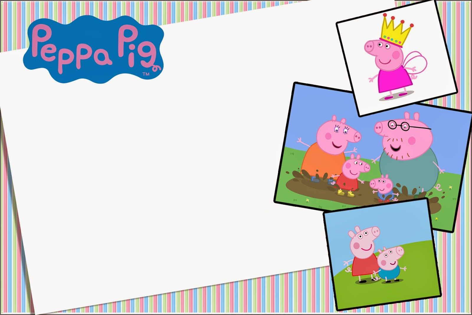 1600x1067 Peppa Pig Free Printable Invitations And Party Printables. Oh