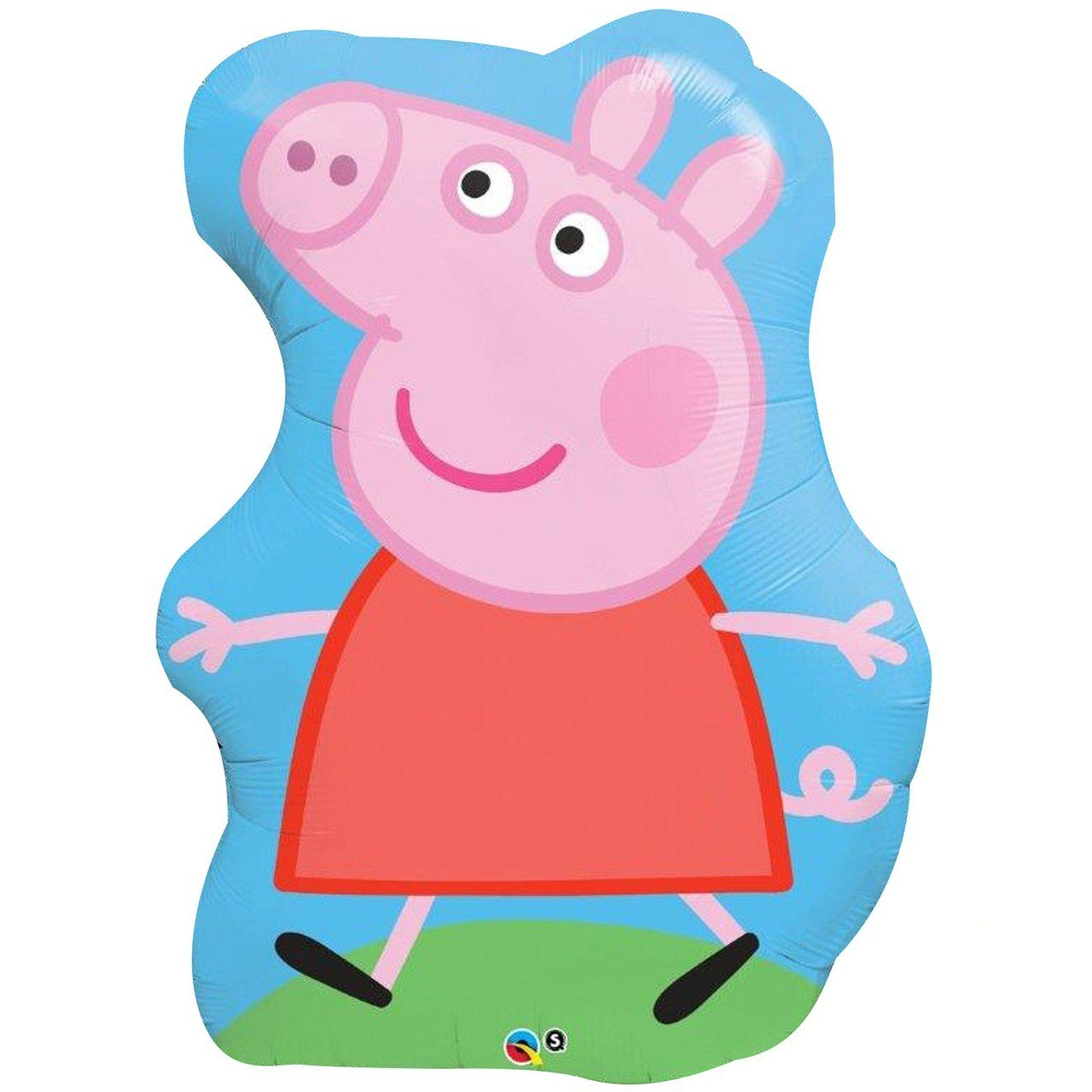 1280x1280 Peppa Pig Jumbo Foil Birthday Balloon