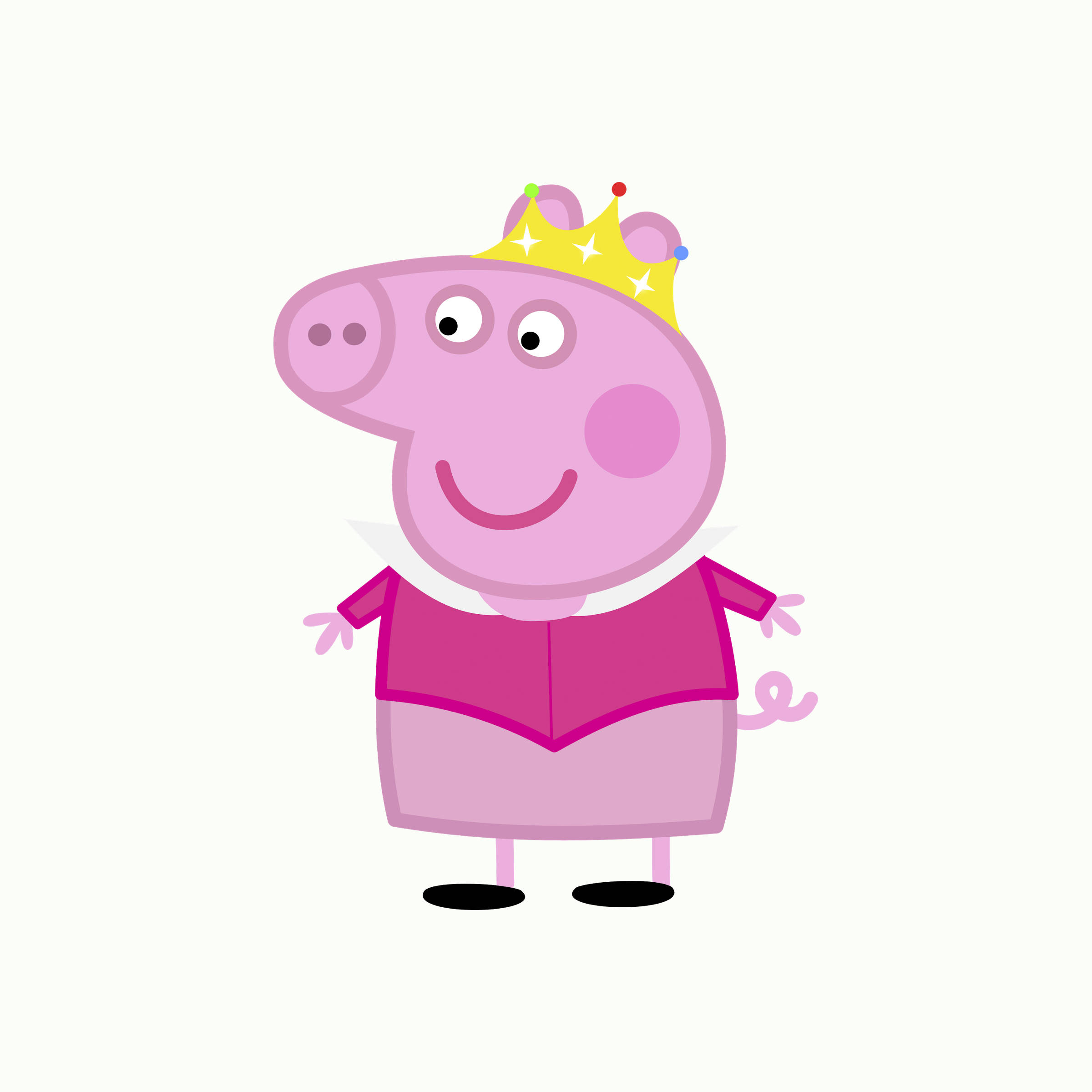 2400x2400 Peppa Pig Clip Art Nursery Decor Party Invitations