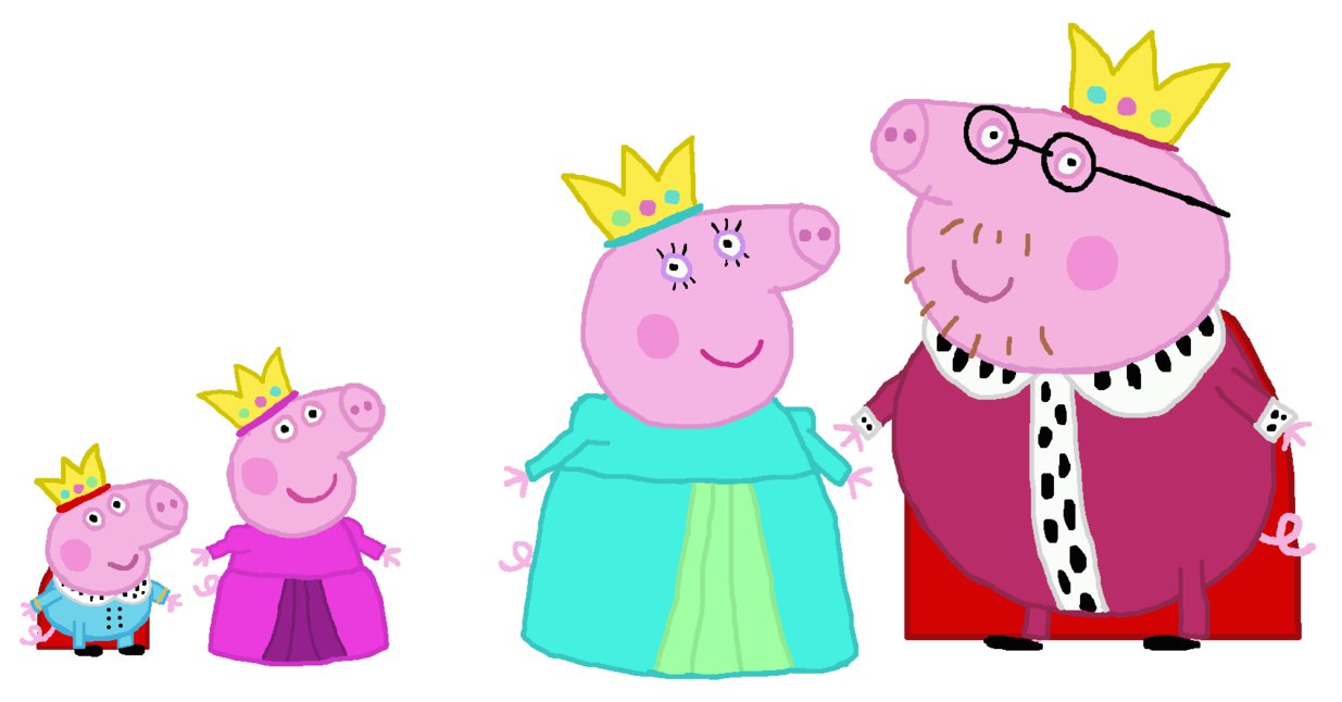 1235x646 Crown Clipart Peppa Pig