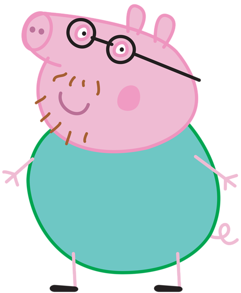 494x600 Daddy Pig Peppa Pig Transparent Png Imageu200b Gallery Yopriceville