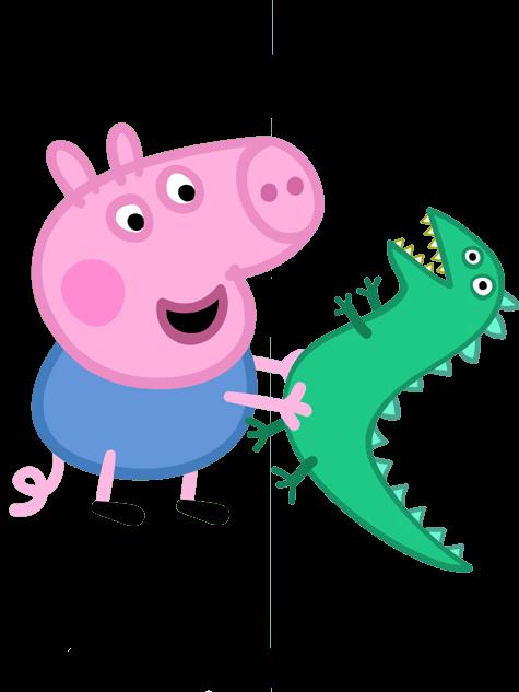 475x633 George Pig Y Dinosaurio Peppa Cartoon, Characters