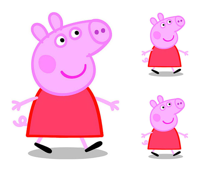640x545 Peppa Pig Frames, Invitations Or Cards. Oh My Fiesta! In English