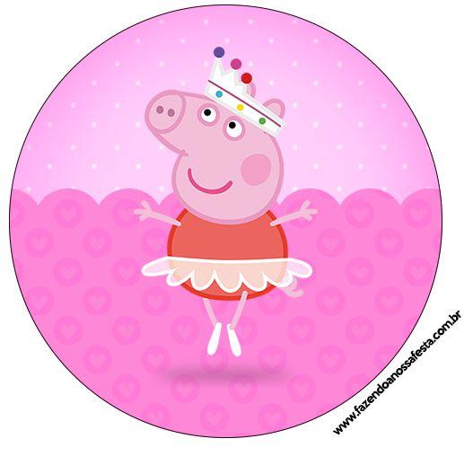 517x508 Ballerina Clipart Peppa Pig