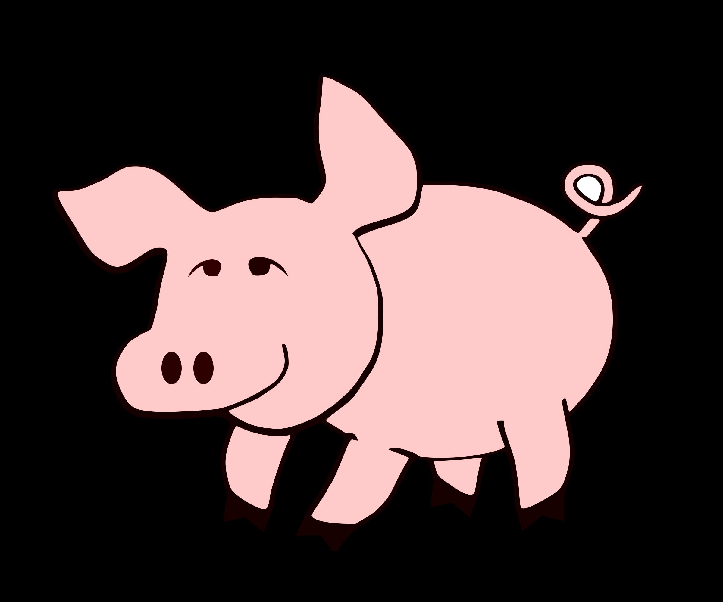 2400x2000 Clip Art Pig Images Clip Art