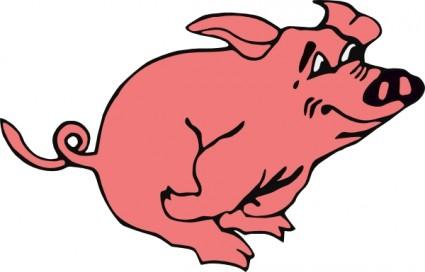 425x272 Free Pig Clipart Clip Art Image 1