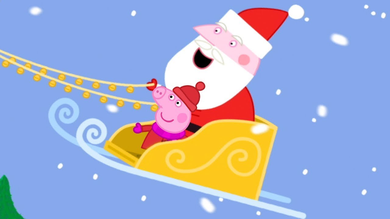 1280x720 Peppa Pig English Episodes Up On The Housetop Peppa Pig Songs
