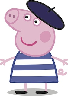 225x318 Peppa Pig Gets New French Partners License Global