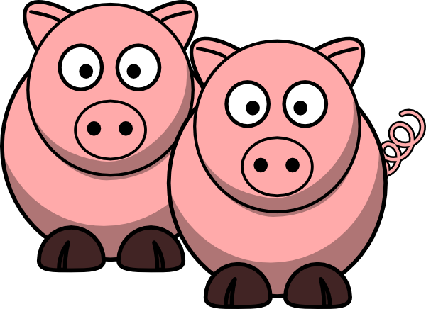 600x436 Collection Of Pig Clipart Png High Quality, Free Cliparts