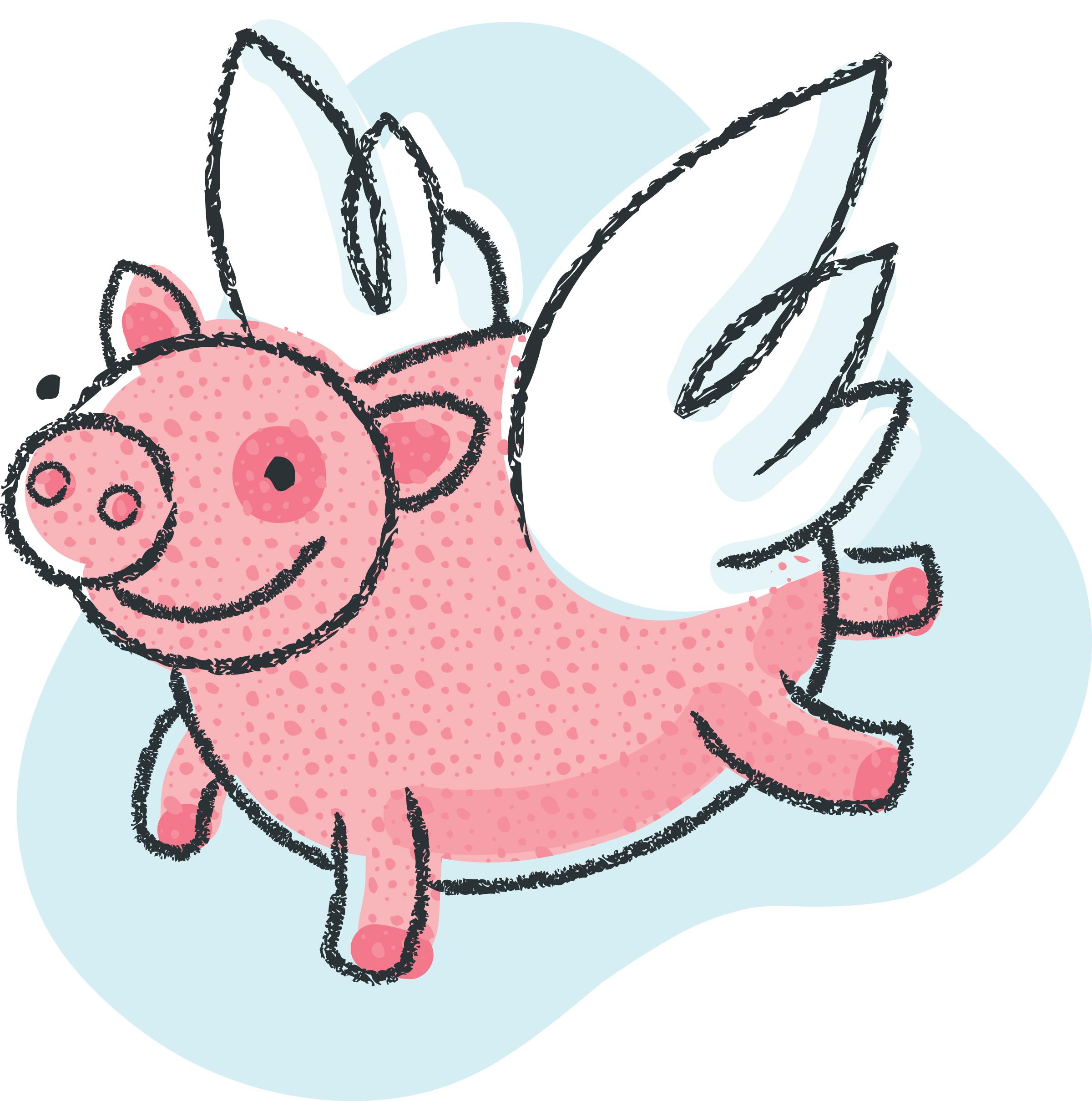 2400x2419 Top 94 Pig Clip Art