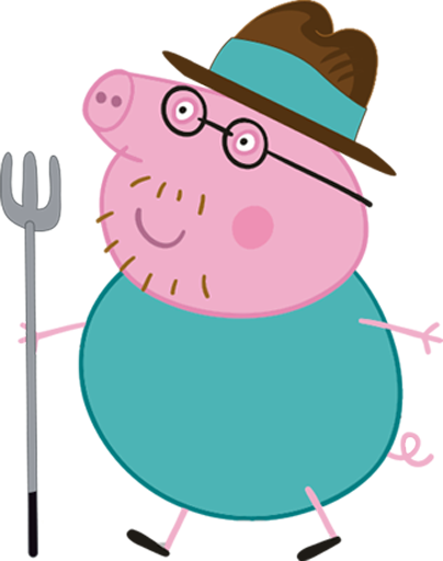 404x512 Peppa Pig With Family Free Printable Kit 008.png Party