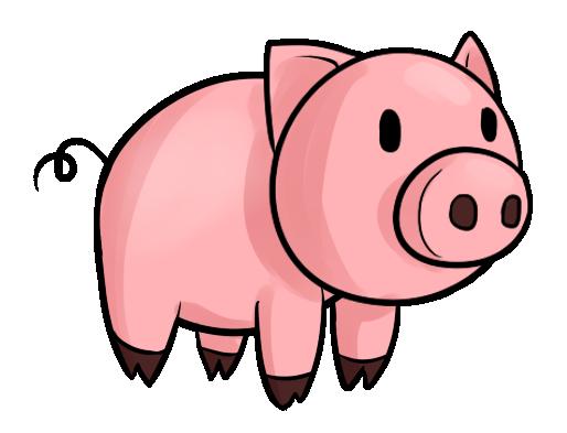 514x393 Cute Pig Face Clip Art Free Clipart Images 3