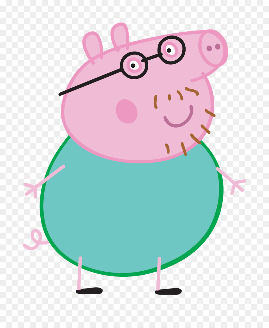 900x1100 Daddy Pig Clip Art