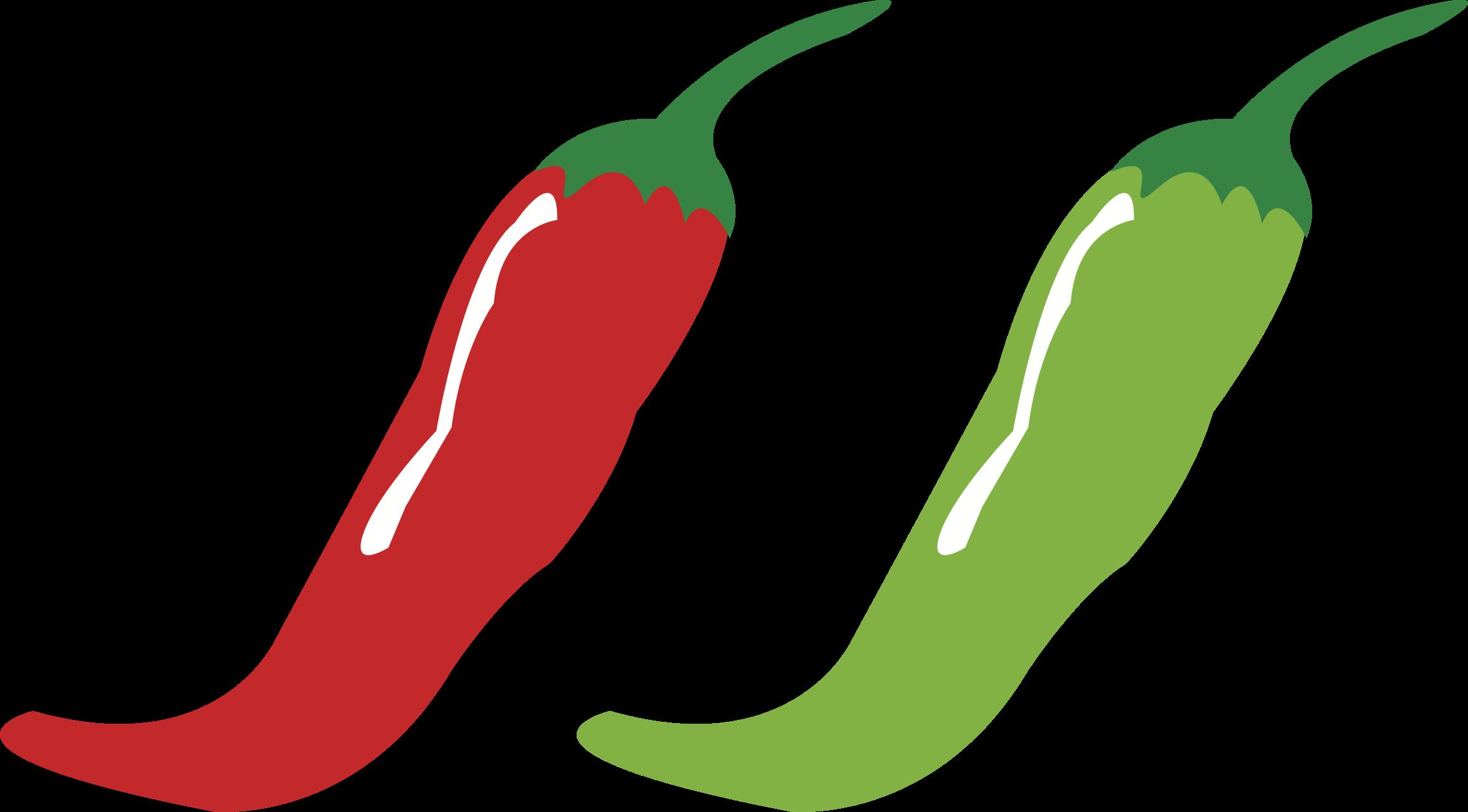 2309x1278 Tabasco Pepper Serrano Pepper Bird's Eye Chili Cayenne Pepper Clip