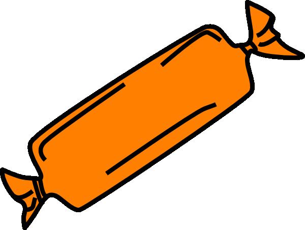 600x452 Orange Candy Bar Clip Art