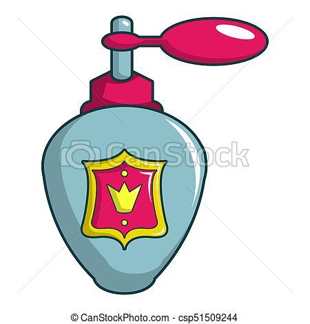 450x470 Royal Perfume Icon, Cartoon Style. Royal Perfume Icon . Drawing
