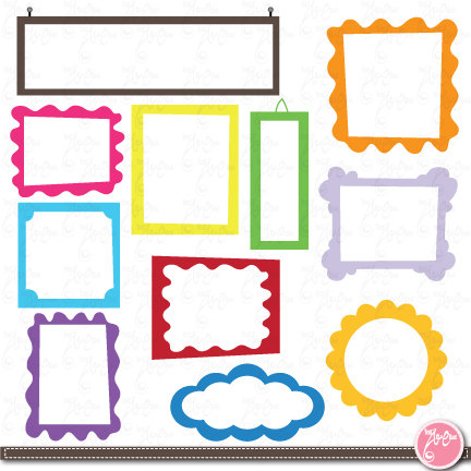 432x432 Frame Designs ,digital Frame,frame Clip Art Elements, Perfect