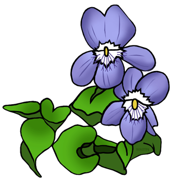 344x360 Free Flowers Clip Art By Phillip Martin