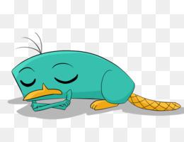 260x200 Perry The Platypus Sleep Cartoon Clip Art