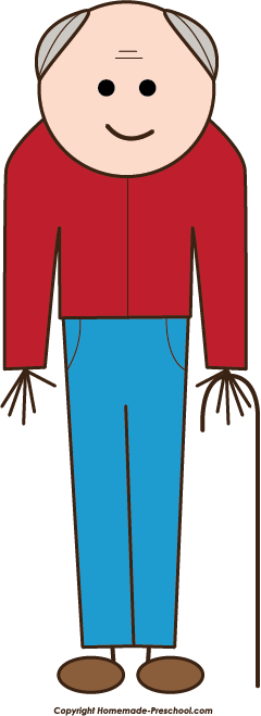 240x659 Free Stick People Clipart