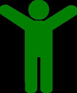 246x299 Green Man Clip Art