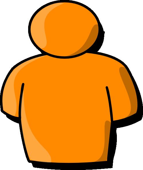 498x592 Orange Person Clip Art Is Free Clipart Panda